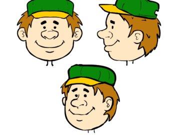 Maskot firmy Greenlux