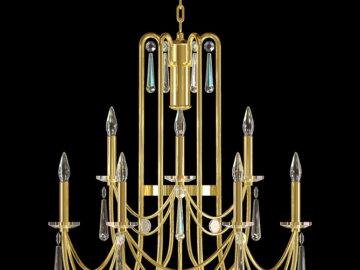 Vizualizace exkluzivních designových svítidel Jawich