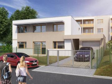 3D vizualizace rodinného domu developerského projektu Byty Frýdek.