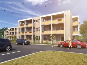 3D vizualizace bytových domů developerského projektu Byty Frýdek.