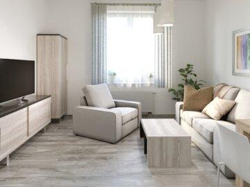 Typové interiéry bytů Residomo