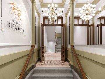 Vizualizace rekonstrukce historického domu Riegrova