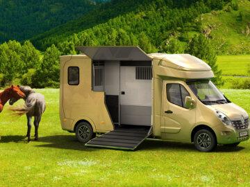 Automotive vizualizace koňských nádstaveb Paraganhorseboxes